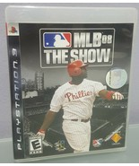 N) MLB 08: The Show (Sony PlayStation 3, 2008) Baseball Sports Video Game - £3.66 GBP