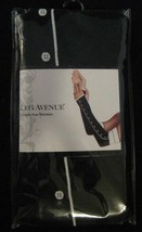 Leg Avenue Black and White Arm Warmers Fingerless Tuxedo Gloves - $11.29
