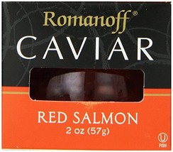 Romanoff Caviar Red Salmon, 2 Ounce Jar - $24.88