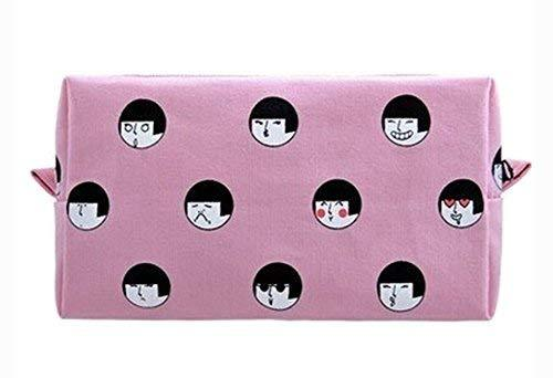Creative High-capacity Makeup Bags/Storage Bags(Pink)