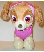"""BUILD A BEAR PAW PATROL SKYE PUP 12"""" PLUSH DOLL TOY IN PINK FLIGHT SUIT ... - $14.99"""