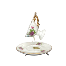 Genuine Bone China Tea Cup Set Miniature Drinking Ware Collectible Doll ... - $14.84