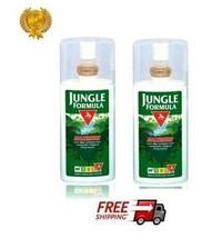 2x JUNGLE FORMULA Maximum Strength IRF4 Mosquito Insect Repellent SPRAY ... - $26.70