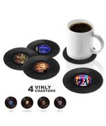 4 PCS Creative Non-slip Vinyl Round Coasters Insulation Cup Mat - $8.90