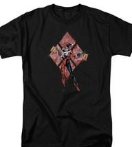 "DC Comics Harley Quinn ""Pow Pow"" Graphic Tee Retro Suicide Squad Batman BM2704 image 2"