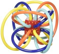 Teether Activity Toy Babies Winkel Rattle Sensory Plastic Loops Chew on ... - $17.60