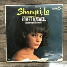Robert Maxwell His Harp and Orchestra Shangri-la Decca LP Record & Album - $7.91