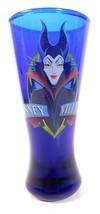 """Disney Villains Maleficent cobalt blue shot glass 4 1/4"""" tall - $6.77"""
