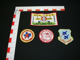 Air craft plane air force aviation vintage patch collection set lot - $22.76