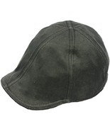 Henschel Distressed Cotton Duck Bill 6 Point Cap Fully Cotton Lined Brow... - $49.00