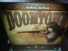 Doomtown Reloaded The Board Game Fun Games AEG GamesBase Sealed cards - $18.81