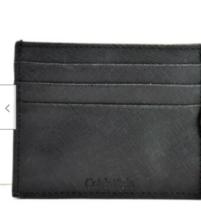 Calvin Klein Mens Leather RFIDCard Holder Wallet , Black - $2,573.01