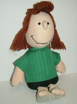 Rare 1982 Peanuts Peppermint Patty Stuffed Doll Determined Productions P... - $23.76