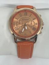 Vintage Geneva Orange Ladies Watch - $18.80