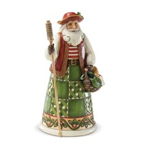 """Italian Santa from Jim Shore Around the World Collection 6.87"""" High Christmas"""