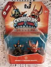 NEW Skylanders Trap Team: Drobit & Trigger Snappy -Mini 2 Pack SEALED>IM... - $15.95