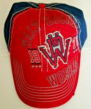 NEW Disney Parks WDW 1971 Red White and Blue Birthday Baseball Cap Hat Adult - $14.99