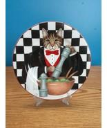 Oneida Sakura Gourmet Cats by Stephanie Stouffer Salad Plate  - $12.86