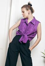 90s vintage silk blouse - $28.39