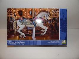 Puzzlebug Carousel Horse 500 Pc Puzzle - $12.66
