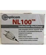 Amplicom NL100 Induction Neckloop Landline Telephone Accessory  - $16.82