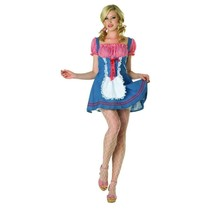 Sexy Square Dance Country Girl Halloween Costume Adult Size 6-8 NEW - $24.70