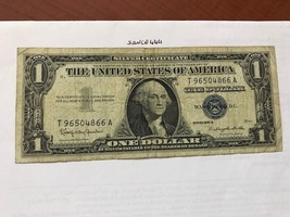 USA United States $1.00 banknote 1957 #9 - $9.95