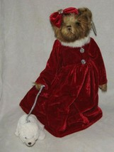 "Bearington Bears ""Krystal & Snowflake"" 16"" Collector Bear- Sku #173169 -NEW-2012 - $79.19"