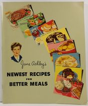 Jane Ashley's Newest Recipes for Better Meals - $3.99