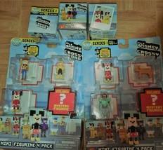 Set Disney Crossy Road (3) Mystery Blind Box and (2) 4-packs Mini Figures New - $14.95