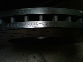 Disc Brake Rotors-Premium DFC 600-20020 fits 10-17 Jaguar XJ image 2
