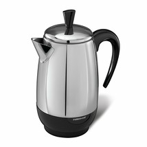Farberware Stainless Steel 2 to 8 Cup Electric Percolator Coffee Brew De... - $73.99