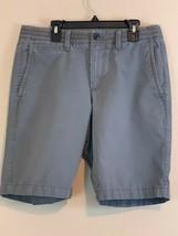 Gap Khakis Mens Shorts Lived In Short Sz 29 Gray Casual - $15.84