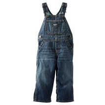 OshKosh B'Gosh Jeans Overall Plaid Lined Dungarees Bib Denim warm 24M Ne... - $19.00