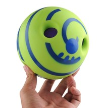 Wobble Wag Giggle Ball Dog Play Ball Trainer Balls with Funny Sound Keep... - $43.37