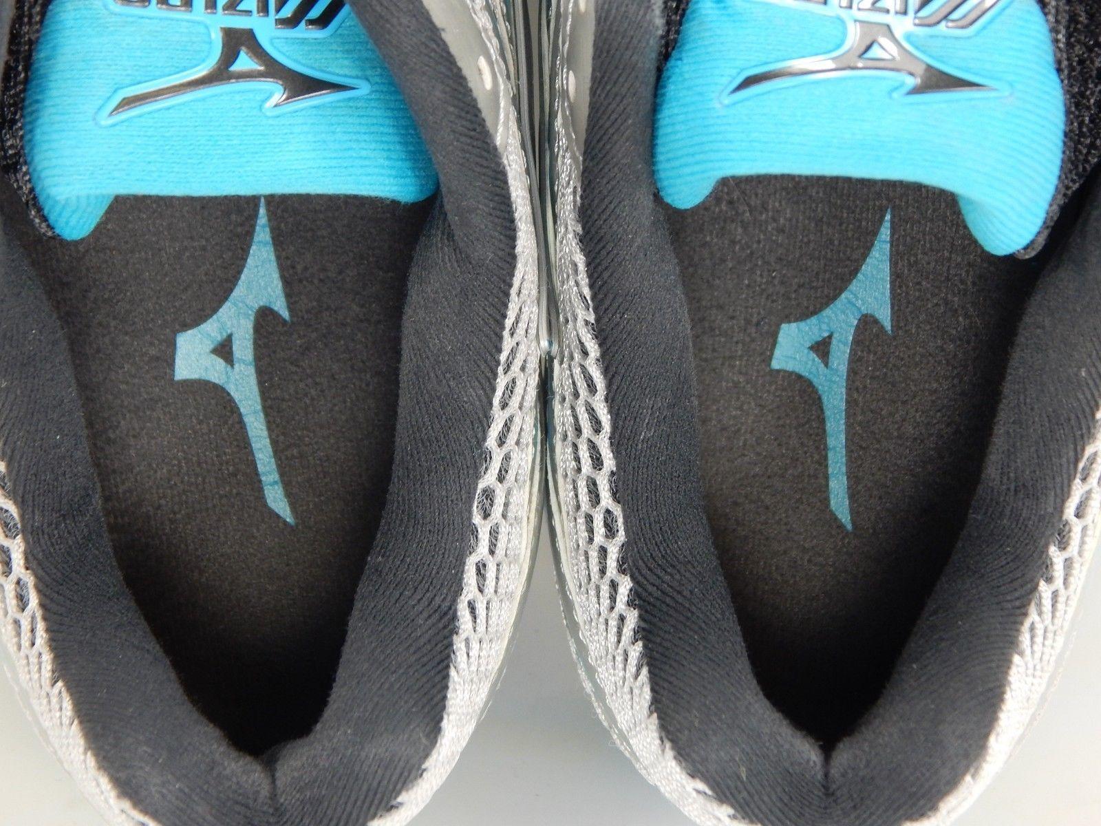 Mizuno Wave Enigma 5 Size US 9 M (B) EU 40 Women's Running Shoes Blue Silver