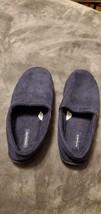 MENS DOCKER SLIPPERS - SIZE LARGE (10-11) - BLUE - $25.00