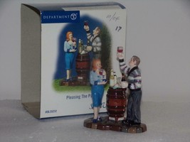 "Department 56 Snow Village - ""Pleasing The Palate"" NEW IN BOX- RARE - $18.81"