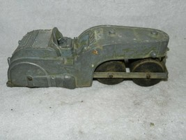 VINTAGE TOY HUBLEY DIECAST STEAM ROLLER 3 WOOD ROLLERS COLLECTIBLE - $59.39