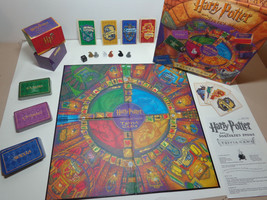 Harry Potter And The Sorcerer's Stone Trivia Game Mattel 1999 Exc Board Wizard - $29.69