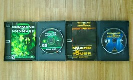 Played once!!! Command and Conquer TWIN combo PC game set by EA dirt CHE... - $37.39