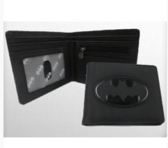 Officially Licensed Batman Black Embossed Logo Mens Boy Bifold Wallet - €18,36 EUR
