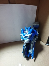 "Power Rangers Jungle Fury Blue Jaguar ""Transforming"" Battle Bike - $17.50"