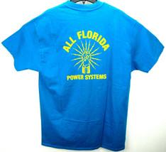Vintage Florida Power Systems Men's Size XL T Shirt Single Stitch Made i... - €21,24 EUR