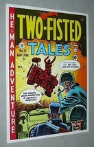 Original EC Comics Two-Fisted Tales 21 US Army battle war cover art pinup poster - $29.99