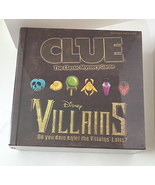 Disney Parks Villains Clue Game in Book Shaped Box NEW - $64.90