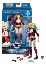 "DC Multiverse Detective Comics Harley Quinn 6"" Figure with Lex Luthor BA... - $24.88"