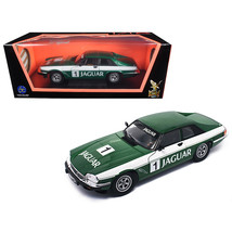 1975 Jaguar XJS Coupe Racing Green #1 1/18 Diecast Model Car by Road Signatur... - $67.36