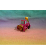 Vintage McDonald's Disney Miniature Pluto Purple Pullback and Go Car (2) - $1.97