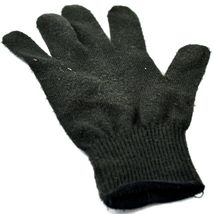 Harley Davidson Motorcycles Women's Black Knit Gloves Orange Bar & Shield image 6